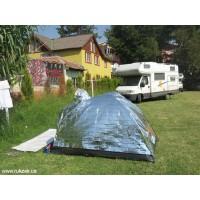 Как защитить палатку от перегрева