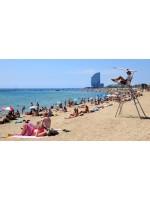 Пляж Барселонета — нежимся на море в центре города