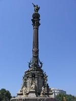 Памятник Колумбу в Барселоне. Адмирал в своём городе