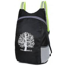 Компактный лёгкий рюкзак 15л чёрный