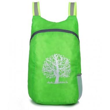 Компактный лёгкий рюкзак 15л зелёный