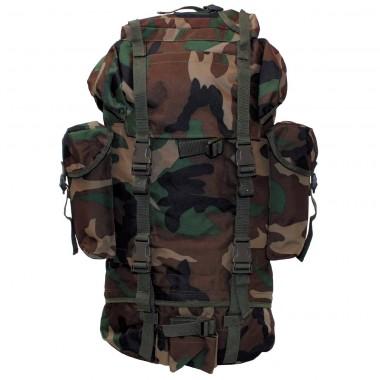 Рюкзак 65л лесной камуфляж MFH