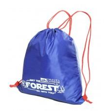 Сумка-рюкзак карманная 10л синяя Travel Extreme