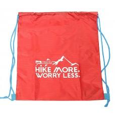 Сумка-рюкзак карманная 10л красная Travel Extreme