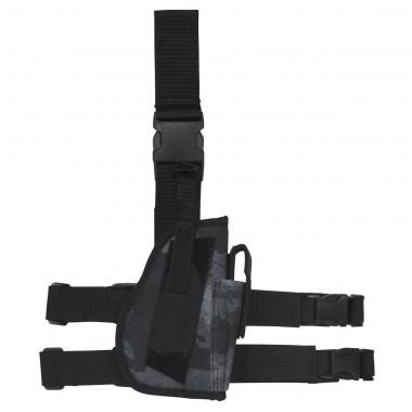 Кобура для пистолета набедренная регулируемая правосторонняя HDT-camo LE MFH