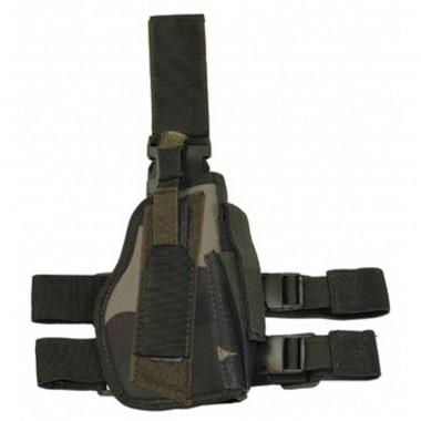 Кобура для пистолета набедренная регулируемая правосторонняя CCE camo MFH
