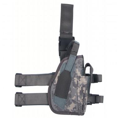 Кобура для пистолета набедренная регулируемая правосторонняя цифровой (пиксельный) камуфляж MFH