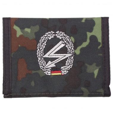 Бумажник «Бундесвер» флектарн с эмблемой «части связи» MFH