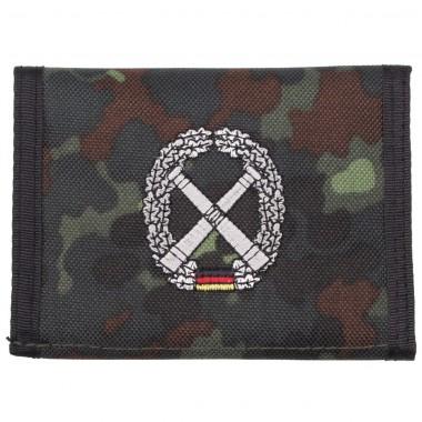 Бумажник «Бундесвер» флектарн с эмблемой «части артиллерии» MFH