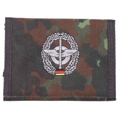 Бумажник «Бундесвер» флектарн с эмблемой «подразделения снабжения» MFH