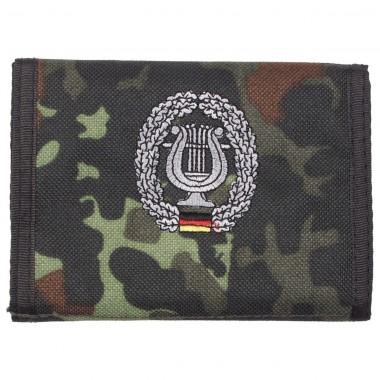 Бумажник «Бундесвер» флектарн с эмблемой «военно-музыкальная служба» MFH