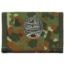 Бумажник «Бундесвер» флектарн с эмблемой «мотострелковые части» MFH