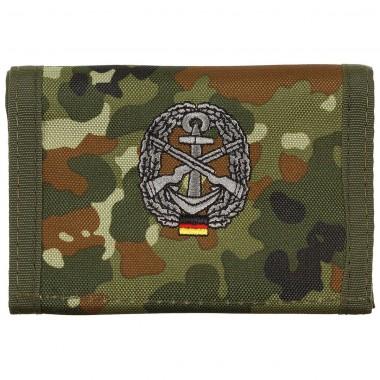 Бумажник «Бундесвер» флектарн с эмблемой «морская оборона» MFH
