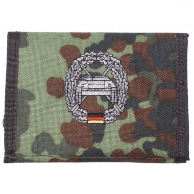 Бумажник «Бундесвер» флектарн с эмблемой «самоходные противотанковые подразделения» MFH