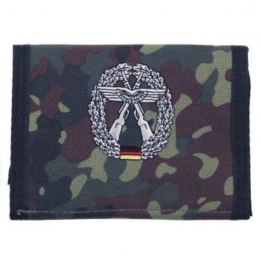 Бумажник «Бундесвер» флектарн с эмблемой «охрана объектов ВВС Люфтваффе» MFH