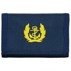 Бумажник «Бундесвер» синий с эмблемой «военно-морские силы» MFH
