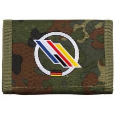 Бумажник «Бундесвер» флектарн с эмблемой «немецко-французская бригада» MFH