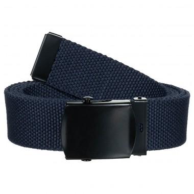 Ремень 30мм тёмно-синий с металлической пряжкой MFH