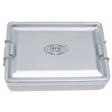 Бокс алюминиевый водонепроницаемый 13,3x9,2x3,4 см MFH