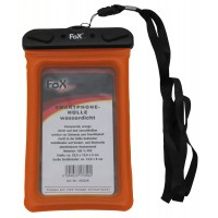 Водозащитная прозрачная гермоупаковка для смартфона 12,5х22,5см оранжевая Fox Outdoor
