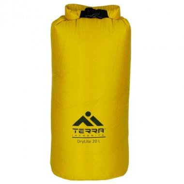 Гермомешок Terra Incognita DryLite 20 жёлтый