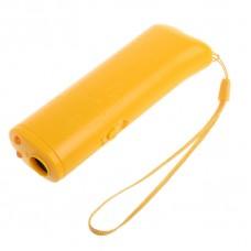 Ультразвуковой отпугиватель собак AD-100 жёлтый