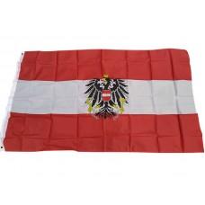 Флаг Австрии с гербом 90х150см