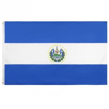Флаг Сальвадора 90х150см