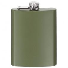 Фляга для алкоголя 225мл нержавеющая сталь, тёмно-зелёная Fox Outdoor