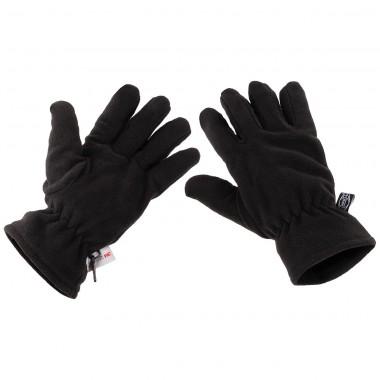 "Перчатки ""Thinsulate"" флисовые, чёрные MFH"