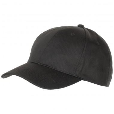 Кепка-бейсболка американского (США) типа MFH чёрная