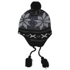 """Шапочка с флисовой подкладкой Fox Outdoor """"Peru Lima"""" синий/чёрный"""