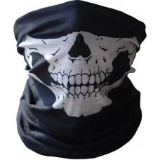 Летняя мультиповязка (горловик) с черепом для Хэллоуина