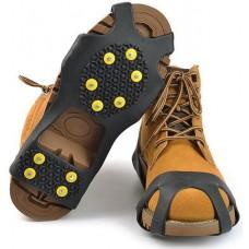 Ледоступы для обуви «10 штифтов» чёрные
