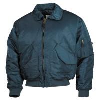 Классическая куртка пилота США US CWU Flight Jacket тёмно-синяя MFH