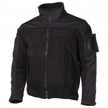 """Куртка мужская флисовая MFH """"Combat"""" черная"""