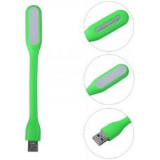 USB фонарик светодиодный для ноутбука/повербанка зелёный