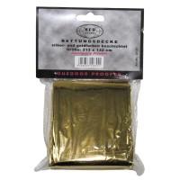 Спасательное одеяло изотермическое золотистое/серебристое MFH
