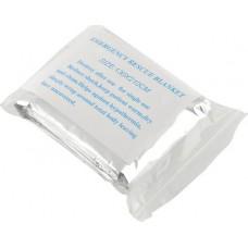 Спасательное одеяло изотермическое серебристое 130x210см