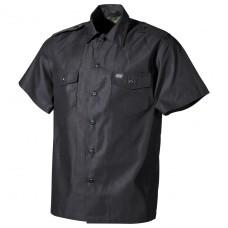 Рубашка с коротким рукавом американского типа, чёрная MFH