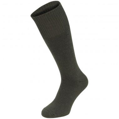 "Толстые носки MFH ""Extrawarm"" олива (тёмно-зелёные)"