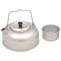 Чайник 0,95л алюминиевый с чайным ситечком Fox Outdoor