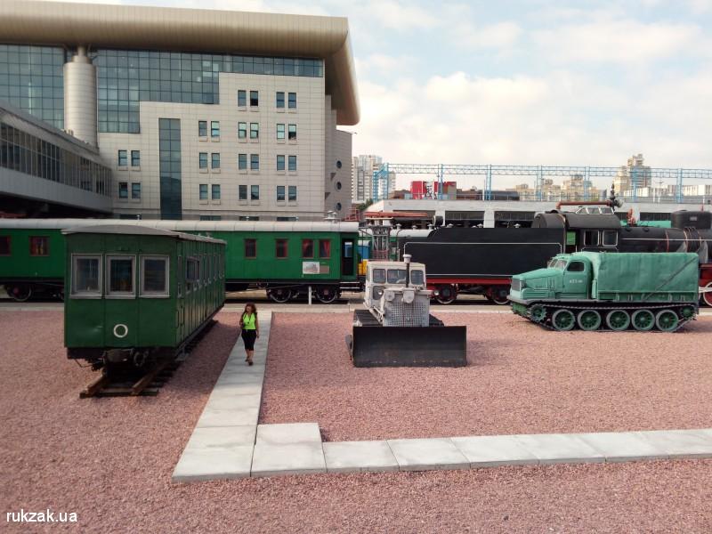 Музей железной дороги, Киев