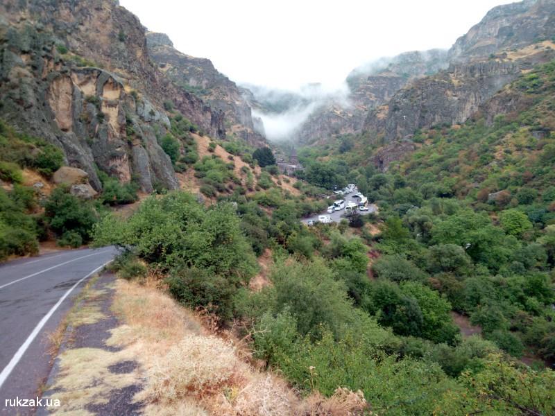 Дорога к монастырю Гегард, Армения