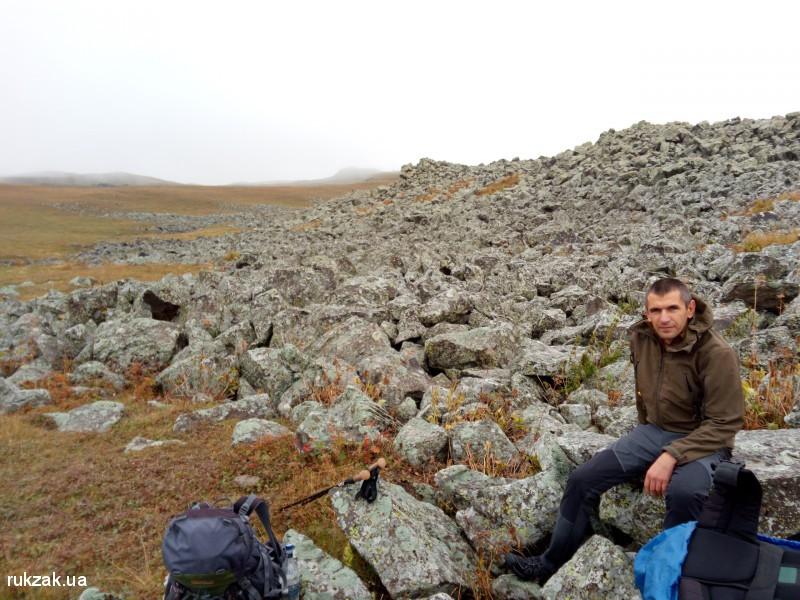 Переход через Гегамский хребет. Армения
